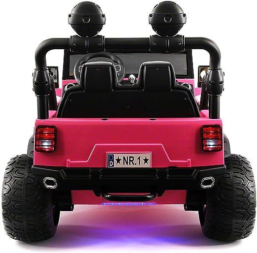 Amazon.com: Kids Ride-ON camión Explorer 12 V con R/C ...