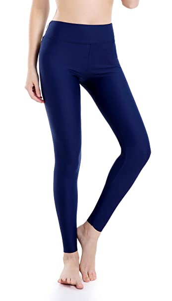 Wirezoll Damen Leggings Blinkdicht Yoga Leggings Fitnesshose