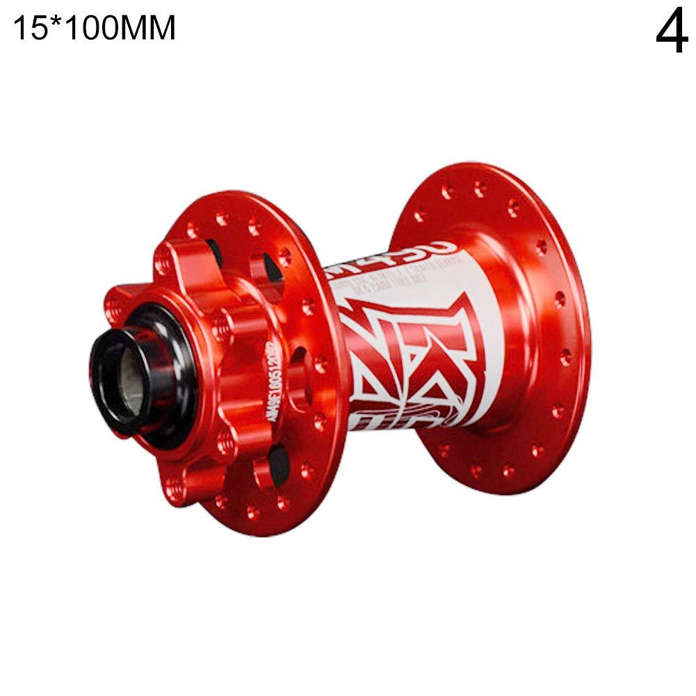 aleaci/ón de Aluminio CNC, Ultraligero Color Rojo MYGYSJK KOOZER XM490 Buje de Freno de Disco Trasero para Bicicleta MTB