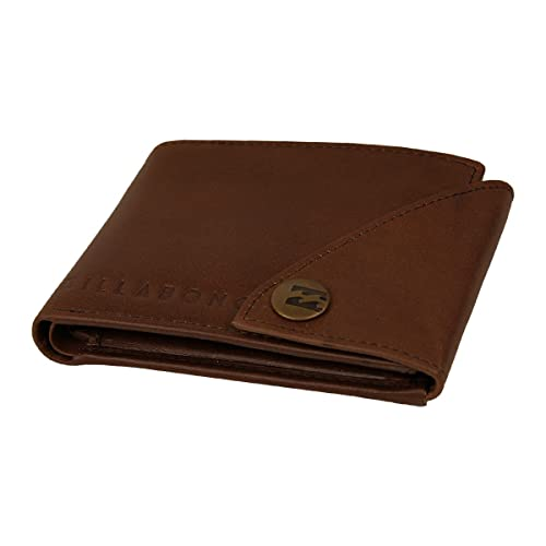 2 Leather Billabong Wallet With Credit card, Note And Coin Pockets ~ Scope2 Chocolate: Amazon.es: Zapatos y complementos