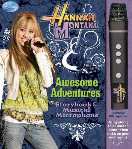 Hannah Montana Awesome Adventures Storybook & Musical Microphone (Disney Hannah Montana) ()