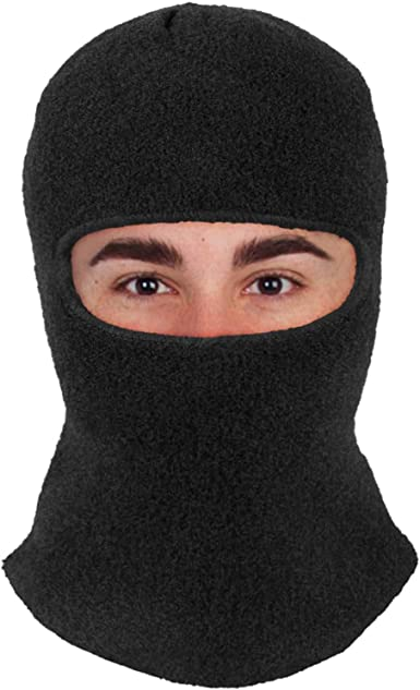 Warm Head and Face Mask Winter Hat 1Hole Balaclava Hood Cycling Breathable Cover