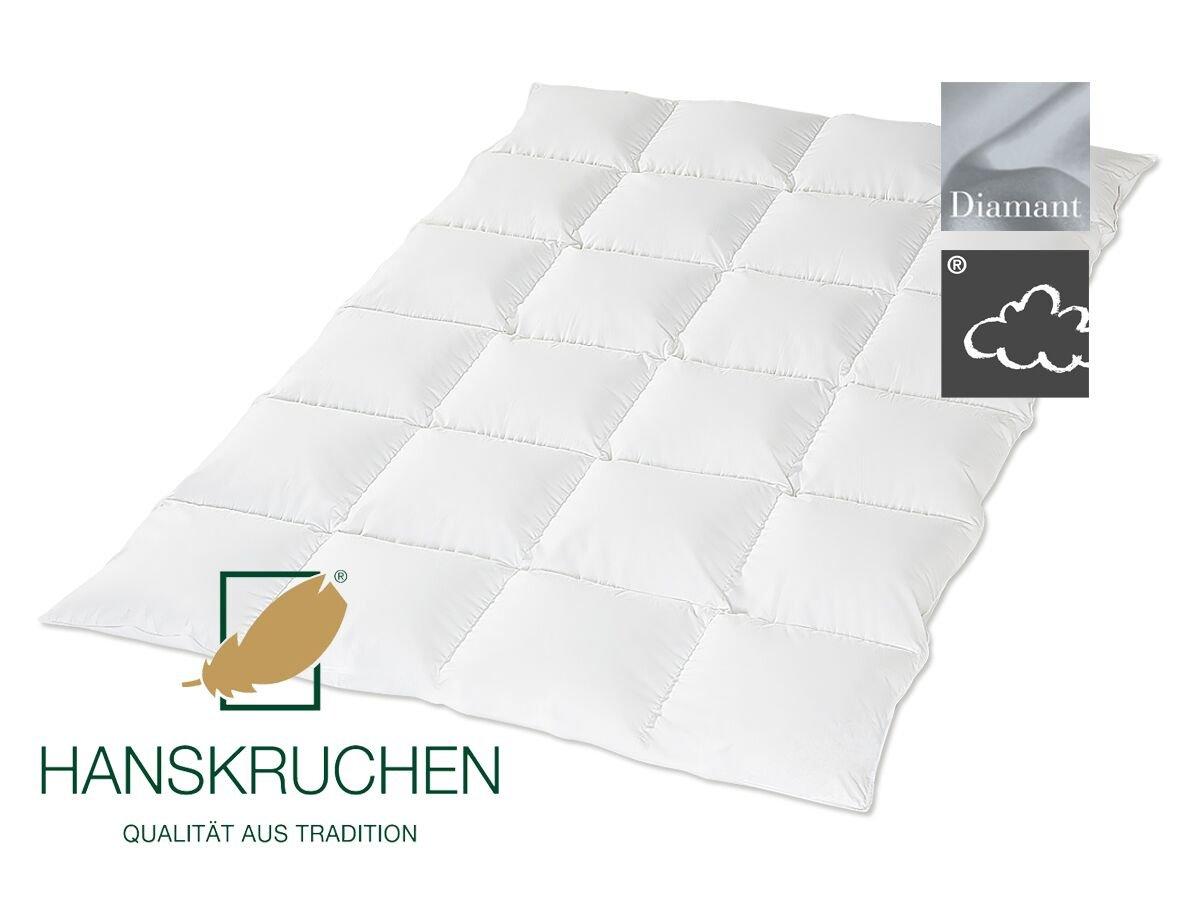 HANSKRUCHEN®   925.53.326   DIAMANT   Daunendecke - 200 x 220 cm - Medium -100% Daunen 1.030 gr.