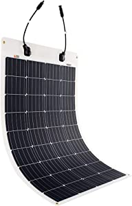 RICH SOLAR 100 Watt 12 Volt Extremely ETFE Flexible Monocrystalline Solar Panel Ultra Lightweight