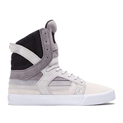 Supra Mens Skytop II Decade X Shoes Size 12 Transitions / Grey - Clear