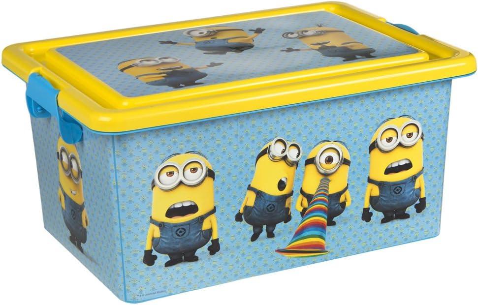 ColorBaby - Caja ordenación 13 litros, diseño minions (76605 ...