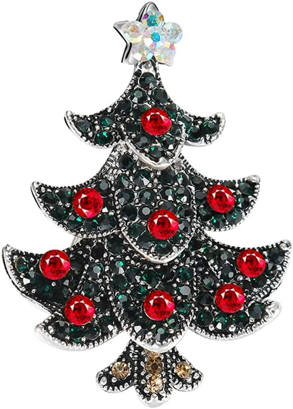 smallwoodi Christmas Brooch Pin,Apple Super Teacher Rhineston ...