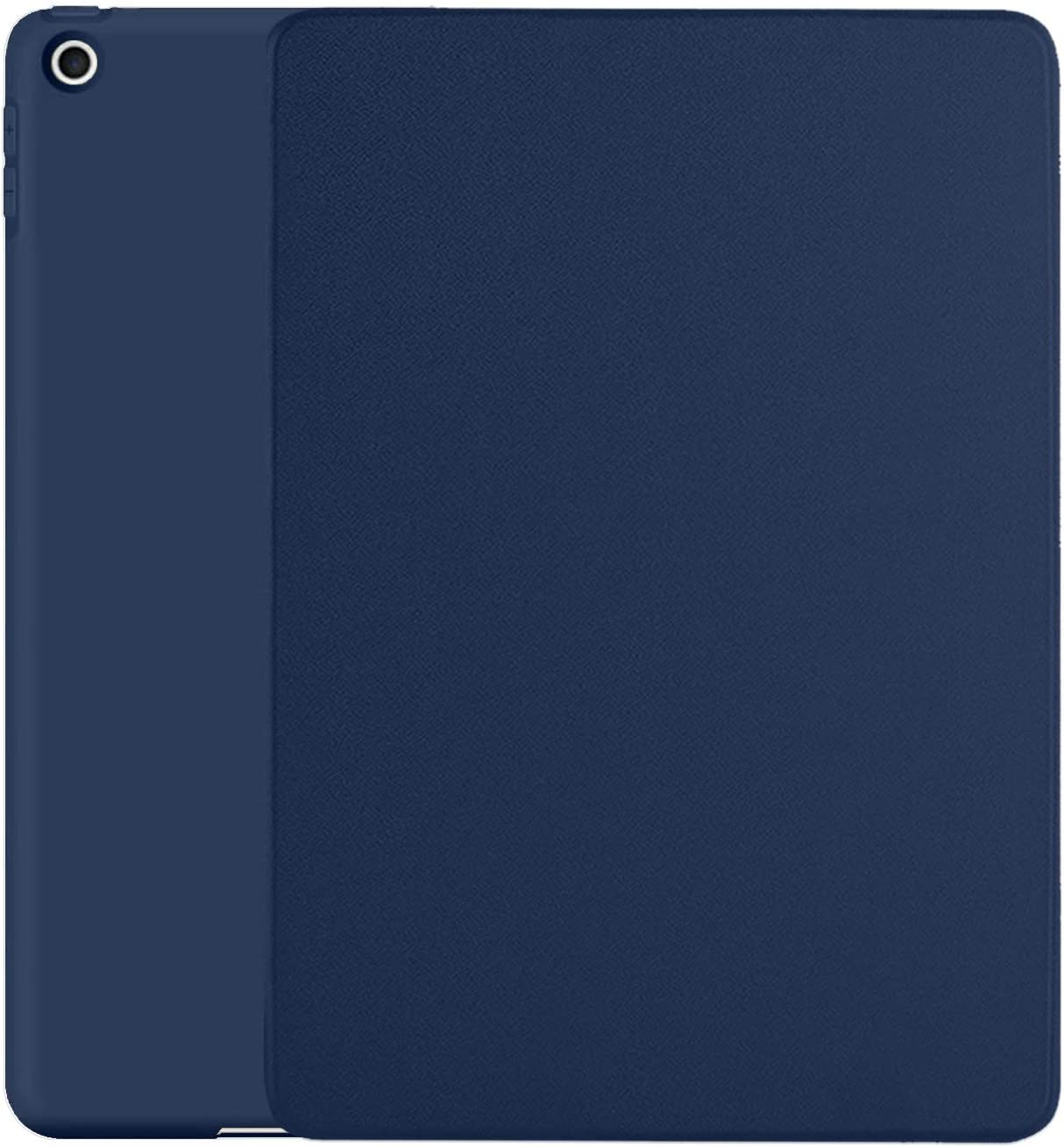 DuraSafe Cases iPad 10.2 Case 2020 iPad 8th / 2019 iPad 7th Gen Slim Fit Viewing/Typing Stand Soft Silicone Back [Protective Smart Cover] for 10.2