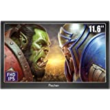 Prechen 11.6 Inch 1920X1080 IPS Portable Gaming Monitor VGA HDMI Compatible for PS3 PS4 Xbox360 Raspberry Pi 3 2 1 /Windows 7 8 10,Bulit in Speakers…