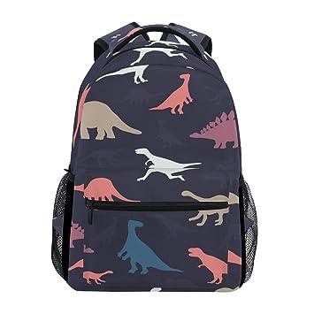 Tizorax - Mochila con diseño de dibujos de dinosaurios, ideal para el colegio, hacer