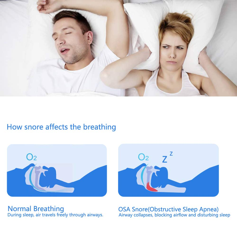 Lookee Ring Sleep Monitor w Vibrating Notification for Low Blood O2 and Snoring, Tracking Overnight Oxygen Saturation Level, Heart Rate w Finger Ring Sensor as Sleep Aid, Daily App Report Wellness Use by LOOKEE (Image #7)