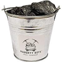 Naughty Boys Coal Company Bucket of Anthracite Coal