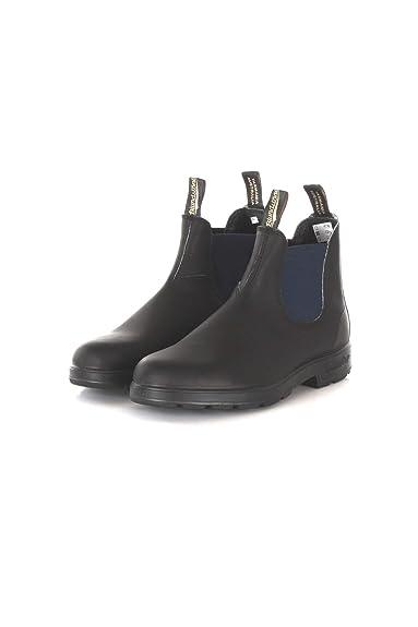 Blundstone | El Boot Stivaletto in Pelle Nero E Blu | BCCAL0024