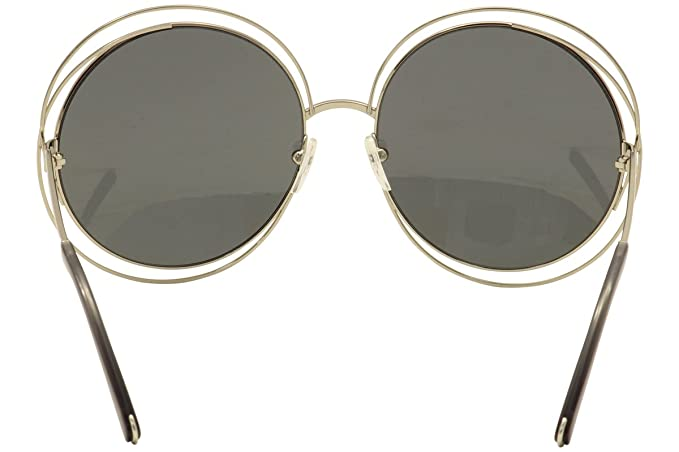 Chloe CE114S-731 Ladies Carlina Gold Transparent Grey CE114S ...