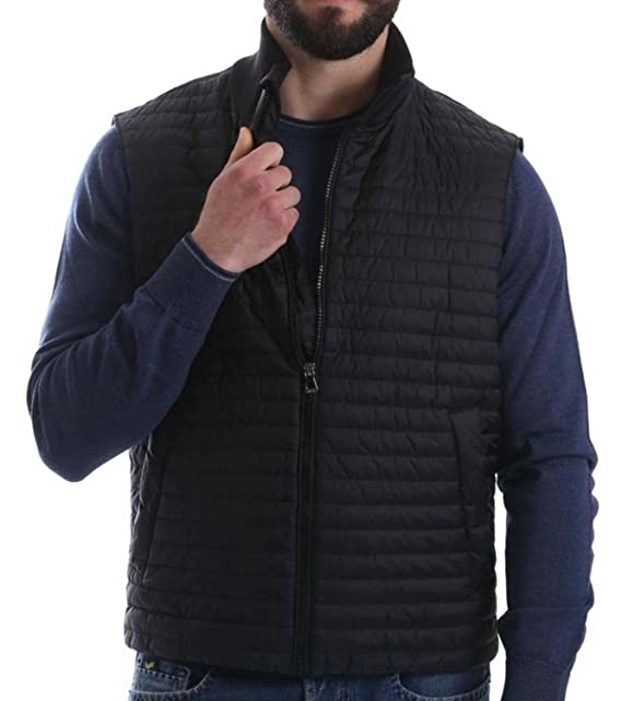 58 Jacket Piumino Amazon Uomo it Nero Geox Smaniacato Man Hfq1FwnSP