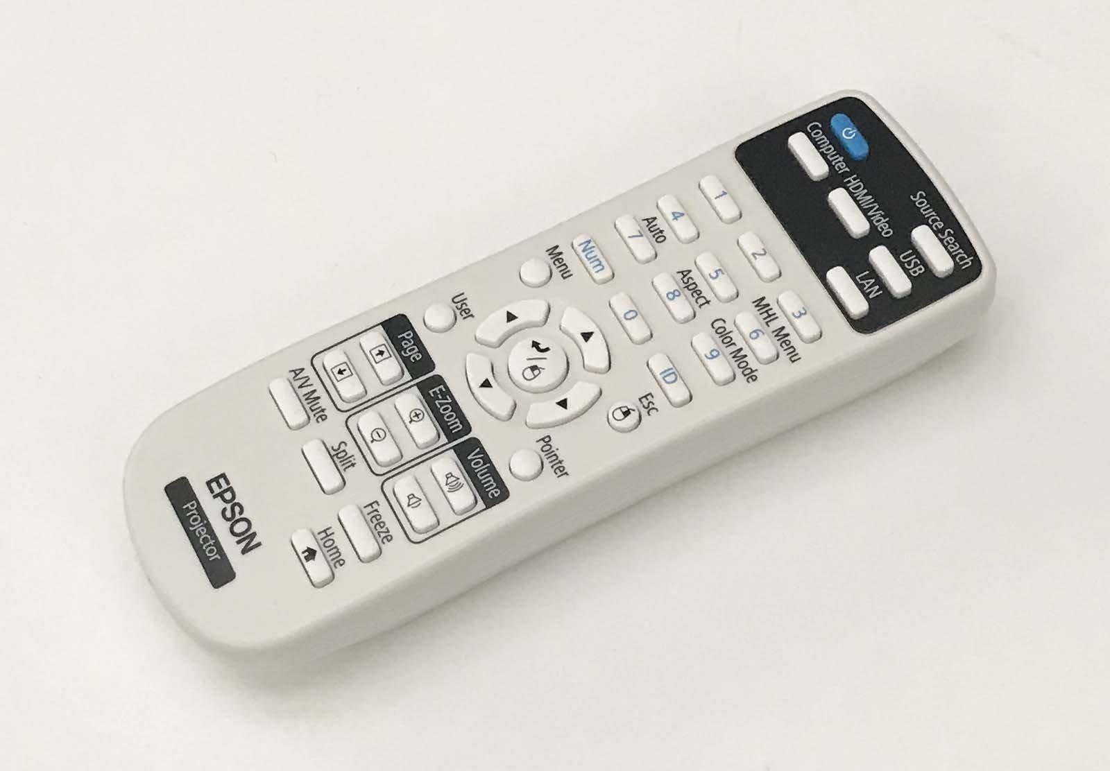 OEM Epson Projector Remote Control Shipped With Epson PowerLite 2247U, 970, 980W, 990U by Epson