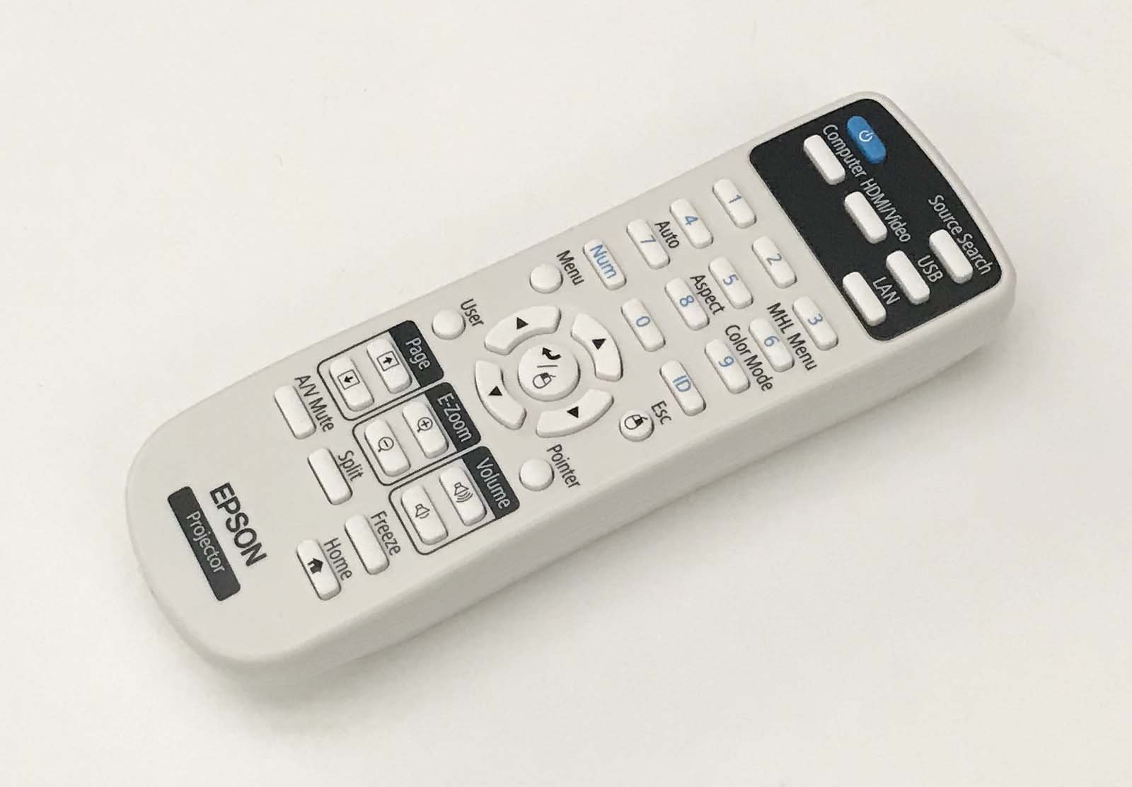 OEM Epson Projector Remote Control Shipped With Epson Home Cinema 1060, 660, 760HD by Epson