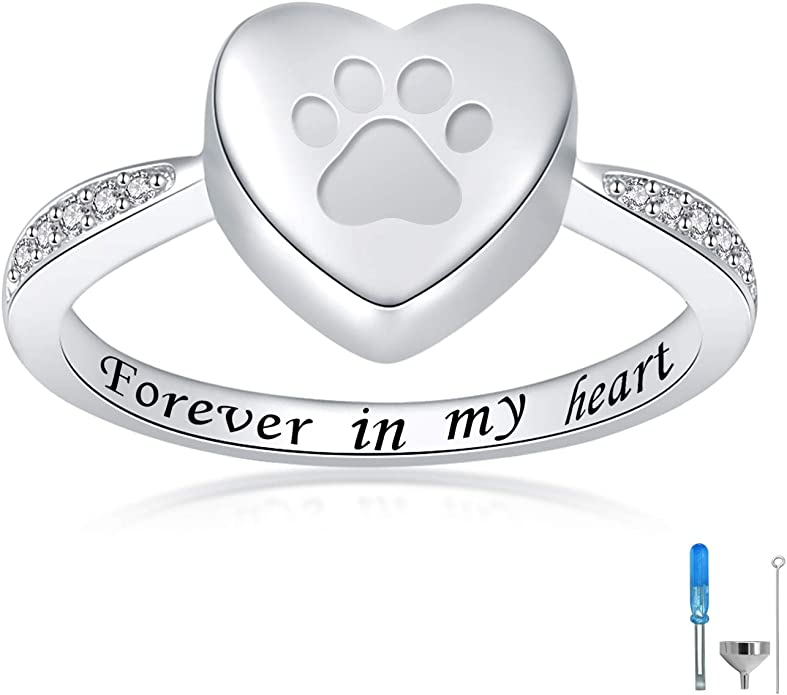 Oval Memorial Cremation Ash Ring Memorial Ash Jewelry Pet Memorial JewelryAsh Ring  Cremation JewelryAdjustable Size100+Color Options