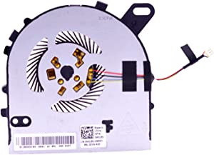 PartEGG CPU Fan Replacement for Dell Inspiron 15 7560 15R-7560 Vostro 5468 5568 Laptop Cooling Fan W0J86 0W0J86 DC28000ICR0