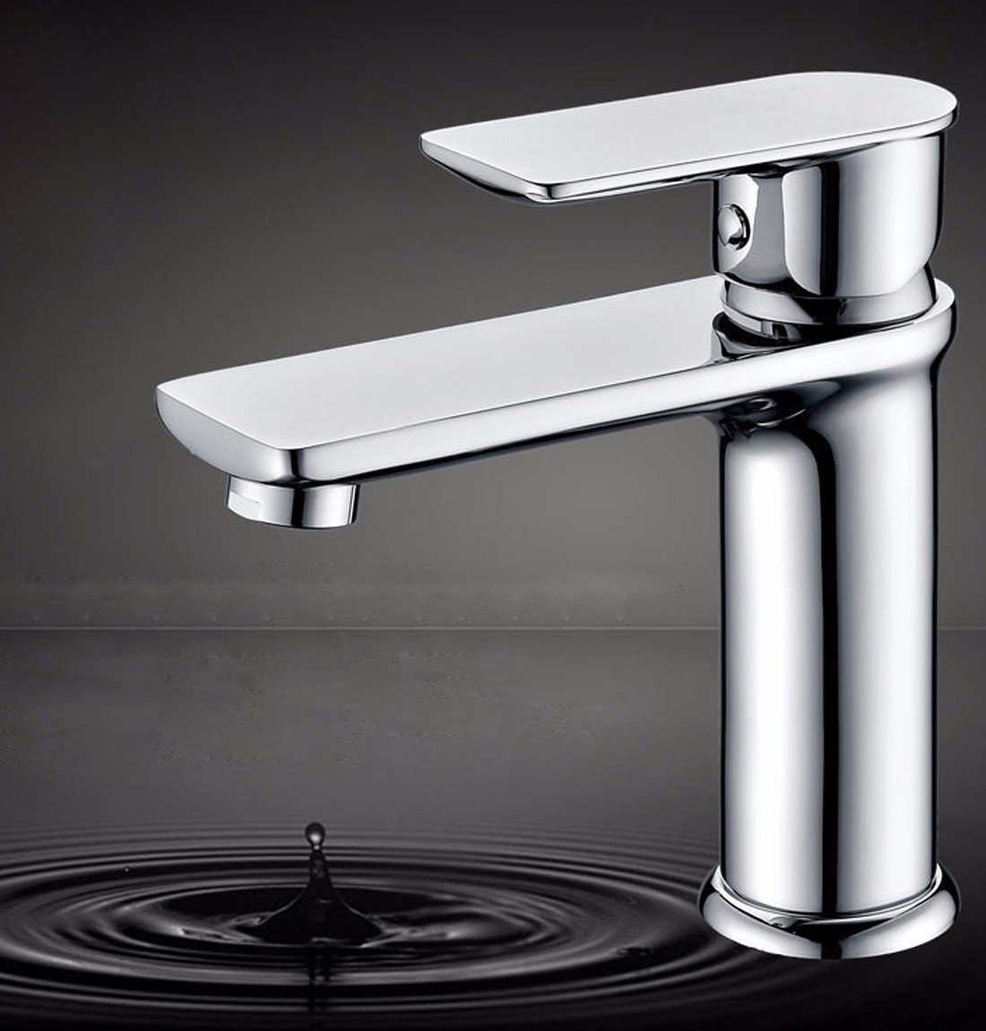MDRW-All copper single hole basin faucet