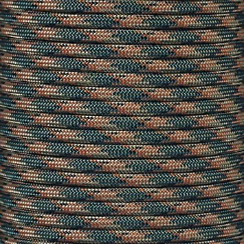OD Green, 25 Feet 25/' Feet Paracord Para cord 550 Cord Nylon Type III MIL-C-5040H 25Ft 50Ft 100Ft 25+ Colors