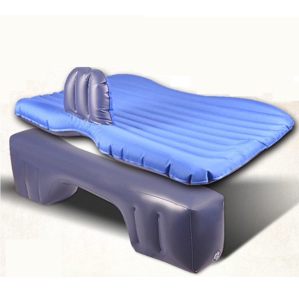 YQQ Selbstfahrender Wagen Auto Aufblasbares Bett Tragbar Im Freien Kampieren Luftmatratze (Farbe : Blau)
