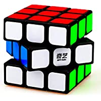D ETERNAL QiYi Sail Speed Cube 3x3x3 Puzzle Game Toy 5.6Cm ,Multicolor
