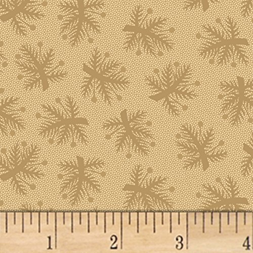 Marcus Brothers 0559018 Pam Buda Pieceful Pines Tan Fabric by The Yard, ()
