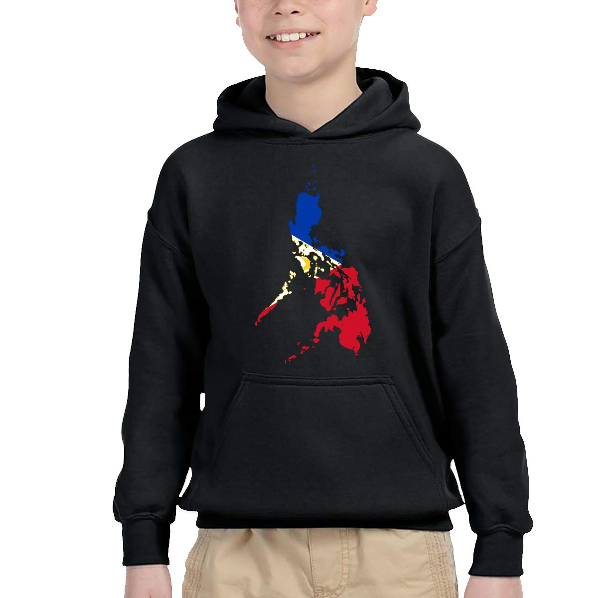 YTH/&123 Kids /& Toddler Pullover Hoodie Fleece Philippine Map Philippines Flag Sweatshirt