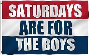 Saturdays are Boys Flag Fraternities Parties Dorm Room Balcony Decor Banner College Flags 3x5 Feet