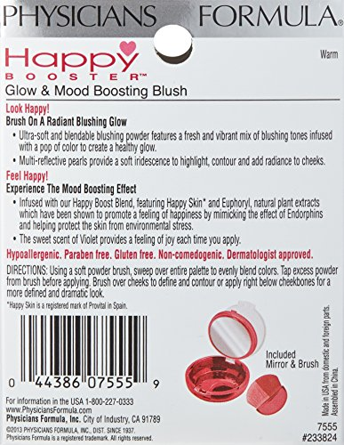 Physicians Formula Happy Booster Glow & Mood Boosting Blush, Warm, 0.24 Ounce by Physicians Formula (Image #2)