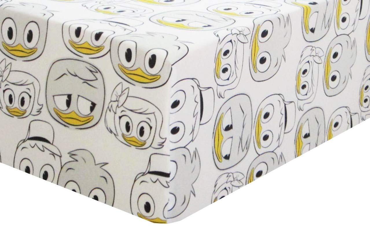 Duck Tales 100% Polyester (Fitted Sheet ONLY) Size Twin Boys Girls Kids Bedding