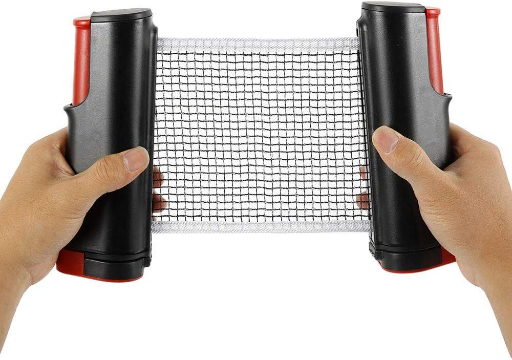 Your's - Red de ping pong para bañera retráctil, repuesto portátil para mesa de ping pong, escritorio de oficina, mesa de comedor, mesa de cocina