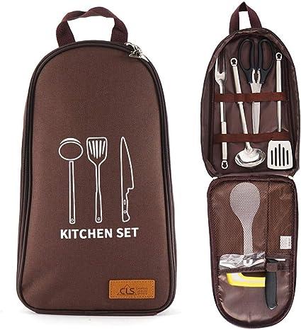 HZYH Ollas Y Sartenes De Acampada Camp Kitchen Utensilio ...