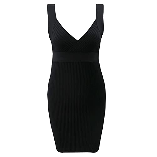 CIEMIILI -  Vestito  - Donna Black Medium