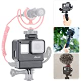 ULANZI V2 Multifunctional Vlogging Case w Cold Shoe Mount for Microphone LED Video Light,Wire Connectable Frame Housing Shell