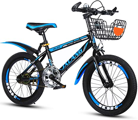 LJXWYQ Los Niños De 6-15 Años De Edad Los Niños En Bicicleta De Montaña, La Absorción De Choque, Montañas, Frenos De Disco, 18 Pulgadas, 20 Pulgadas, 22 Pulgadas, B,18inch: Amazon.es: Deportes y