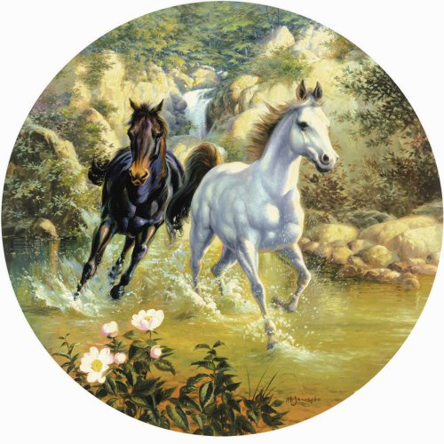 Horse in Mt. Brook Jigsaw Puzzle 1000 Piece