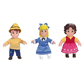 Famosa Heidi Set of 3 Dolls Heidi Peter and Clara