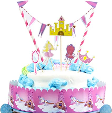Super Birthday Cake Topper Cake Banner Party Decoration For Baby Shower Funny Birthday Cards Online Elaedamsfinfo