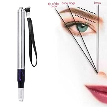 Tattoo Pen Manual Eyebrow Lip Eyeliner 3D Embroidery Microblading LED Light Machine Pen Tattoo Needles Tattoo