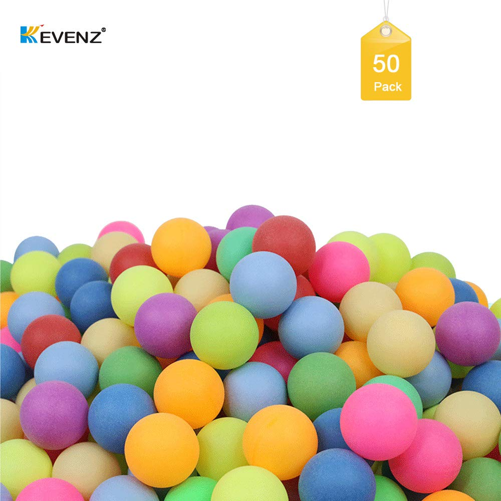 KEVENZ 1500-Pack Beer Ping Pong Balls,Assorted Color Plastic Game Table Tennis Ball by KEVENZ (Image #2)