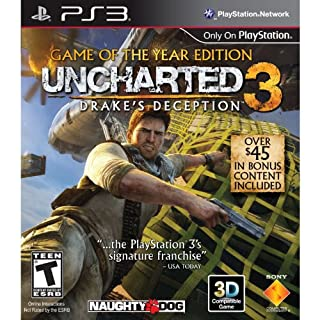 Uncharted 3: Drake's Deception - Game of the Year Edition - Playstation 3 (B008CP6RUW) | Amazon price tracker / tracking, Amazon price history charts, Amazon price watches, Amazon price drop alerts