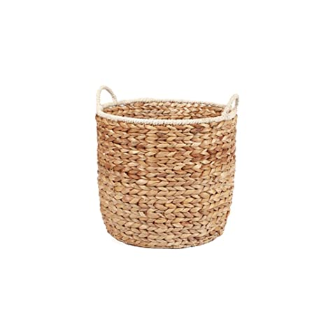 Sundlight Handmade Straw Basket Multipurpose Storage Baskets For Organizing  Laundry,Toys,Fruit,Plant
