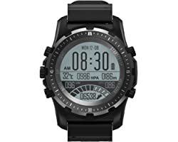 Multisport GPS Hiking Sport Watches for Men Military Watches with Compass, Features GLONASS, Pedometer, Barometer, Sleeping M