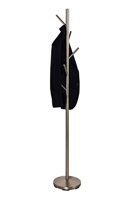 Top Home Solutions Modern 16 Hook Hat /& Coat Stand Clothes Coat Scarf Organiser Storage Rack by Top Home Solutions White