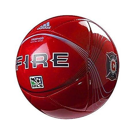 adidas Chicago Fire Mini - Balón de fútbol: Amazon.es: Deportes y ...