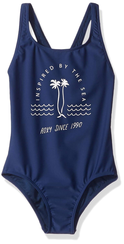 Roxy Girls' Big Downtown Lights One Piece Swimsuit ERGX103038