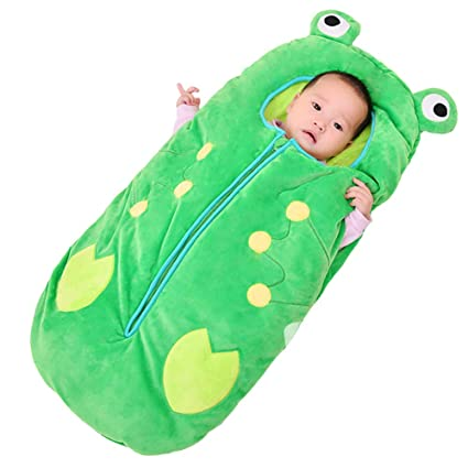 premium selection a8729 41a33 HZL- Infant frog Sleeping Bag, Baby Cute Blanket Used in ...