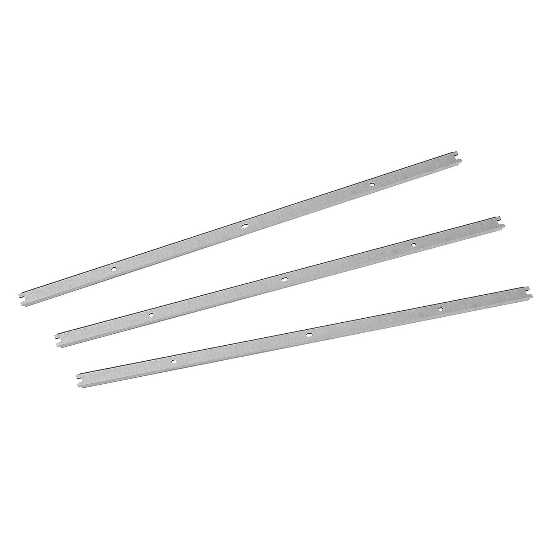 POWERTEC 128281 13-Inch HSS Planer Knives for Ridgid R4331, Set of 3